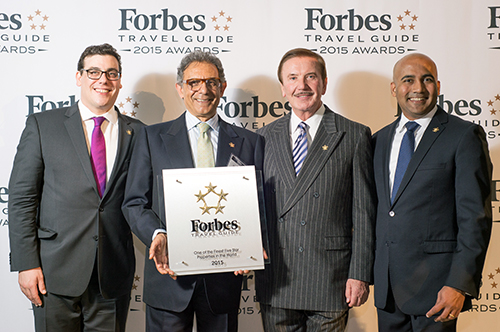 The Setai, Miami Beach has been Awarded the 5 Star Rating by the Forbes Travel Guide